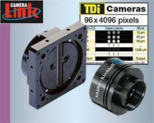 Line Scan Cameras With CameraLink® Interface