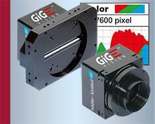 Line Scan Cameras With Gigabit Ethernet And GigE Vision Interface